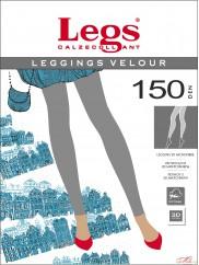 Плотные эластичные леггинсы  LegsVELOUR LEGGINGS 150 den
