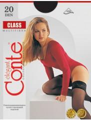 Самоудерживающиеся чулки Conte Class 20den