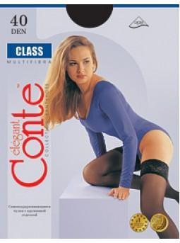Самоудерживающиеся чулки Conte Class 40den