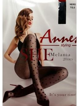 Колготки в горошек Annes Melania