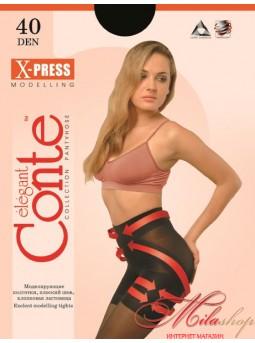 Моделирующие колготки Conte X-press 40den