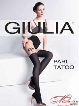 Стильные колготки Giulia Pari TATOO №1 60den