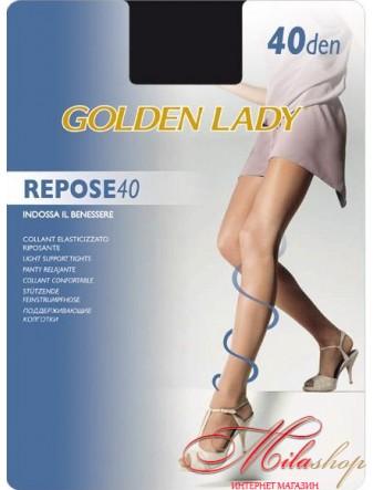 Прозрачные колготки с поддерживающим эффектом Golden Lady REPOSE 40den