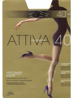 Комфортные колготки Omsa ATTIVA 40den