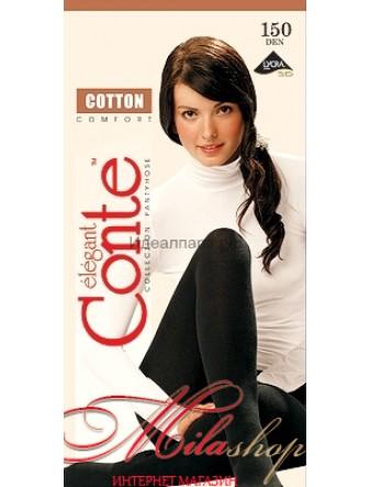 Женские колготки из хлопка Conte COTTON 150 den