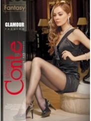 Тонкие колготки с люрексом Conte GLAMOUR