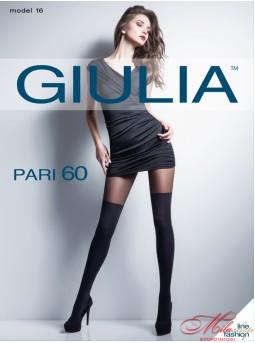 Роскошные колготки с имитацией ботфорт Giulia pari 60 №16