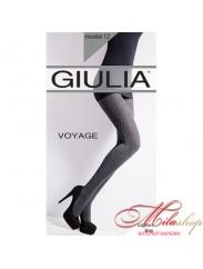 Теплые фантазийные колготки Giulia Voyage  180den №12