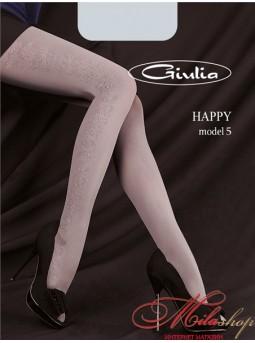 Фантазийные колготки Giulia HAPPY №5