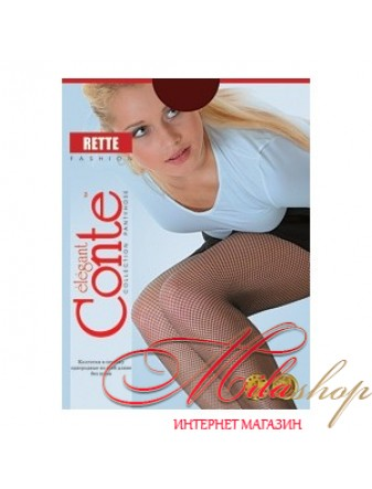 Ретро-колготки в сеточку Conte RETTE