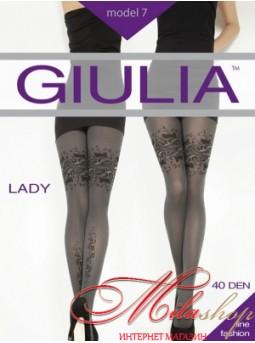 Фантазийные колготки Giulia LADY №7