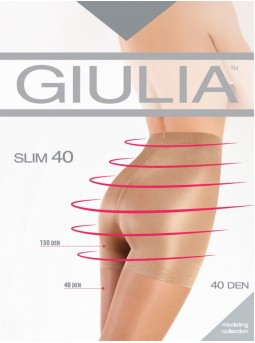 Моделирующие колготки Giulia Slim 40den