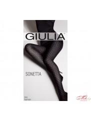 Теплые колготки с узором Giulia Sonetta 100 №7