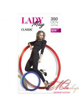 Теплые леггинсы Lady May leggins 350 den.
