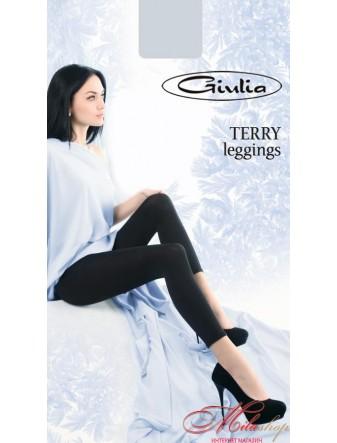 Леггинсы с махрой изнутри Giulia Terry leggins.
