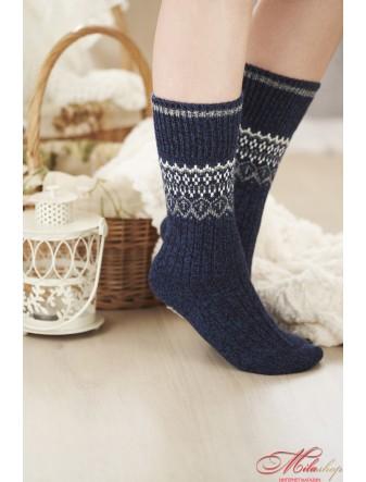 Женские носочки с имтацией ручной вязки Anabel Arto 03931