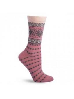 Теплые носочки с шерстью Дюна 335