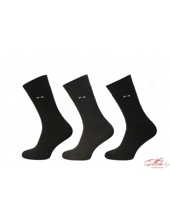 Мужские носки утепленные махрой изнутри Дюна Comfort 3B 239