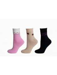 Женские носочки утепленные махрой Дюна Comfort 3B 339