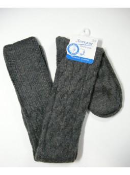 Женские носки-ботфорты из шерсти Лонкаме 6021