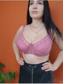 Бюстгальтер для пышной груди Lanny Mode 11268 розовый