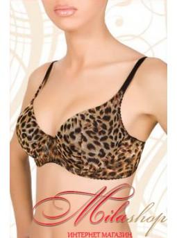 Бюстгальтер с леопардовым орнаментом Marsana 1025