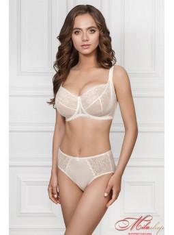 Изящный комплект Jasmine lingerie 1406/30 Elin + 2509/30 Teresa в цвете шмпань