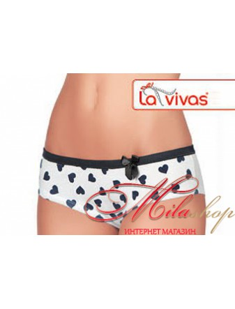 Трусики из хлопка с рисунком La Vivas 20156