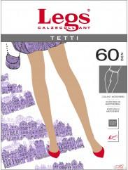 Плотные элегантные колготки Legs TETTI 60den
