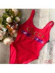 Купальник цельный с логотипом Gucci
