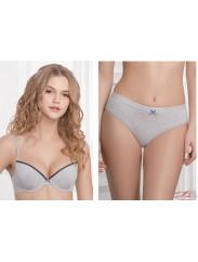 Стильный хлопковый комплект Jasmine lingerie 1805/50 IZIS + 5504/50 Flory