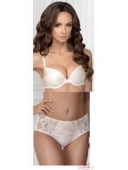 Комплект Jasmine lingerie 152/38 NIKI + 2509/38 Sylvia в нежном молочной цвете
