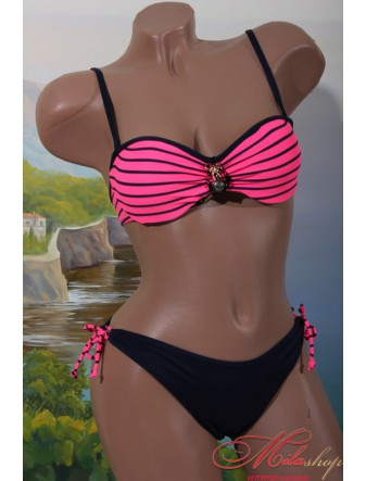 Яркий купальник бандо Rivage Line 14234