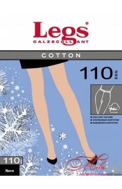 Плотные колготы Legs COTTON 110 den