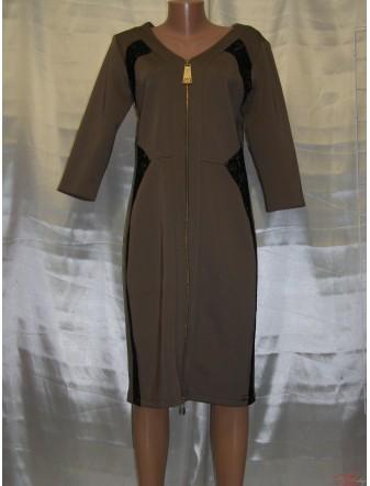 Роскошное женское платье с длинным рукавом Fashion 2055