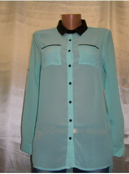 Блуза шифоновая с рукавом Fashion 2036