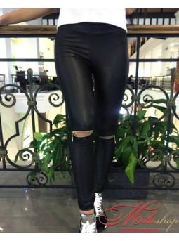 Модные лосины с имитацией кожи Fashion 2530