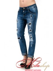 Стильные джинсы бойфренды 2531
