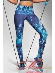 Спортивные лосины в модной расцветке Bas Bleu LAGUNA