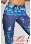 Спортивные лосины в модной расцветке Bas Bleu Intense 200