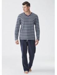 Классическая мужская пижама KEY 342