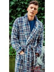 Теплый мужской халат KEY 445