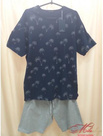 Изумительная мужская пижама SAM-PY-109 Rossli