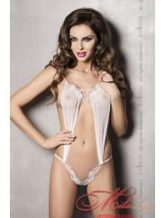 Сексуальное боди Athena Body white Passion