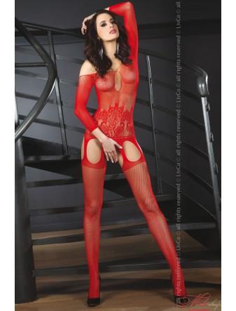 Эротический боди-комбинезон Livia Corsetti ADIVA RED