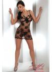 Сексуальная прозрачная сорочка и трусики MIDORI, Livia Corsetti.