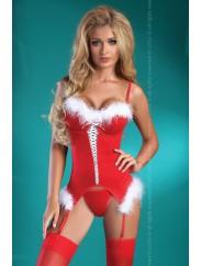 Обворожительный корсет в рождественском стиле Livia Corsetti CHRISTMAS ANGEL
