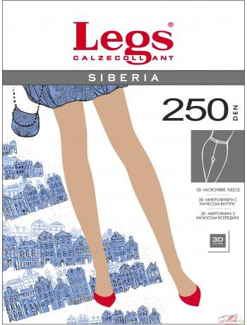 Теплые колготки  Legs SIBERIA 250 den